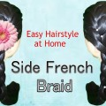 French-Side-Braid-Easy-Hairstyle-for-women