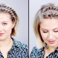 Hairstyle-Of-The-Day-SUPER-EASY-Rope-Braid-Twists-Short-Hairstyle-Milabu