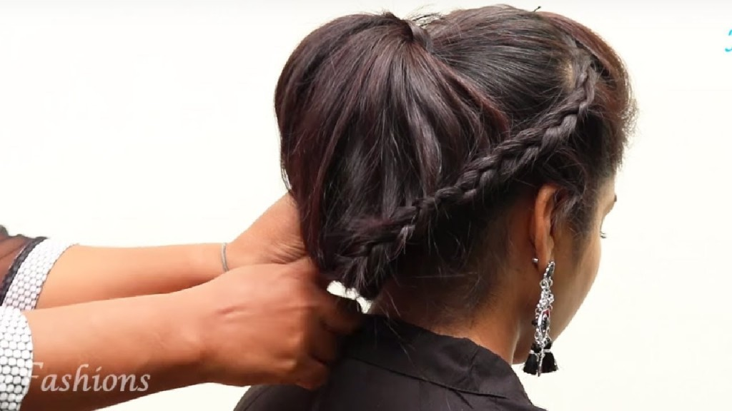 Hairstyles For Medium To Long Hair Indian Party Hairstyles