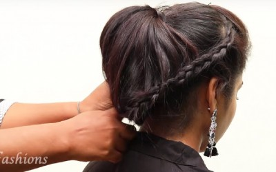Hairstyles-for-Medium-to-Long-Hair-Indian-Party-Hairstyles-Hairstyle-Tutorial-Videos