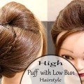 High-Puff-With-Low-BunWedding-HairstylesBridal-HairstylesNew-Hairstyles