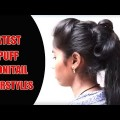 How-to-makePuff-Ponotail-Hairstyle-for-Long-Hair-Hairstyle-Tutorials-2017-YouTube.z