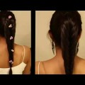 Long-Hair-Hairstyles-For-Lehenga-_-Indian-Traditional-Hairstyle-For-Wedding-Bridal-Full-HD-1080p