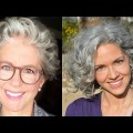 Magnificent-Short-Haircuts-For-Older-Women-With-Curly-Hair-in-2017