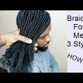 Mens-Hair-Styles-Braiding-For-Men-Tutorial-Video-HOW-TO-3-Hair-Styles