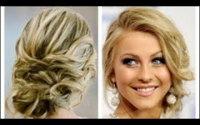 Romantic-Wedding-Prom-Hairstyle-For-Long-Hair-Medium-Hair-July-2017-W