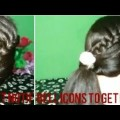 Side-franch-ponytail-buetiful-hairstyles-for-long-hair-collage-girls-and-working-womens-tutorial27