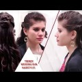 Trendy-Wedding-Bun-Hairstyles-for-medium-long-hair.-Wedding-prom-updo.-YouTube