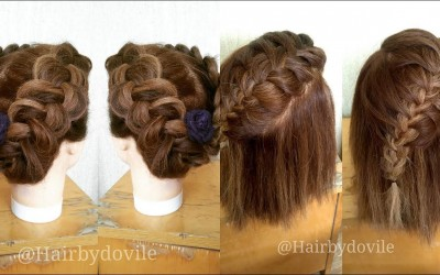 3-EASY-HAIRSTYLES-FOR-SHORT-HAIR-HOW-TO-TUTORIAL