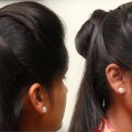 3-Minute-BUBBLE-BUN-Hairstyle-2017-Easy-Hairstyles-for-Medium-Long-Hair-Hairstyles-Tutorials
