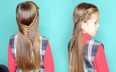 5-Minute-School-Hairstyles-for-long-hair-Quick-and-Easy-Hair-Tutorial