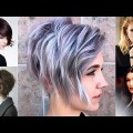 Asymmetrical-Curly-Bob-Hairstyles-Balayage-Short-Bob-Haircut-Ideas-Hair-Colors-2018