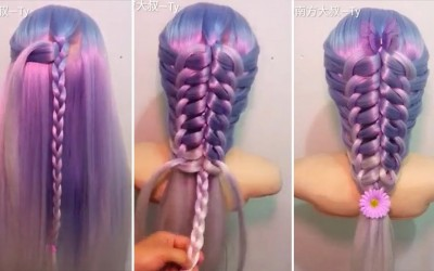 Beautiful-Hairstyle-for-LONG-HAIR-DETAILED-TUTORIAL-part-2