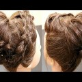 Braided-Crown-With-Messy-BunWedding-HairstylesNew-HairstylesBridal-Hairstyles