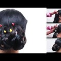 Bridal-Bun-Hairstyles-Beautiful-Updo-Hairstyles-Hairstyle-step-by-step-Tutorial-2017-YouTube