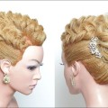 Bridal-Wedding-Updo.-Hairstyle-For-Long-Hair-Tutorial-Step-By-Step