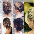 Cute-Christmas-New-Years-eve-hairstyles-for-medium-long-hair-tutorial-2017