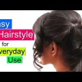 Easy-2-Min-Cute-Everyday-Hairstyle-for-girls-Easy-Hairstyles-Videos-2017-YouTube.