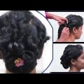 Easy-Brida-Bun-Hair-style-for-Long-Hairl-Amazing-Bun-Hair-style-Tutoreals-YouTube-.