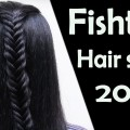 Easy-Fishtail-Hairstyles-2017-Bridal-hairstyle.-Wedding-updo-for-long-hair-tutorial