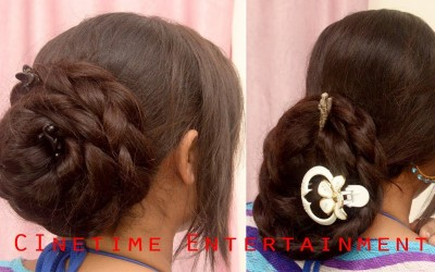 Easy-Hair-Styles-within-Minutes-by-Very-Long-Hair-of-Varsha