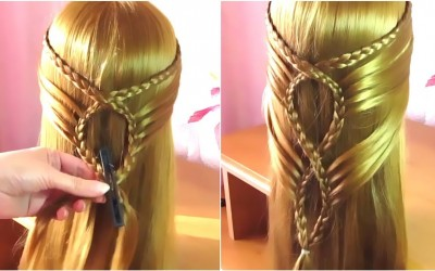 Easy-Hairstyle-For-Long-Hair-_-Best-Hairstyles-for-Girls-Step-by-Step-Tutorial