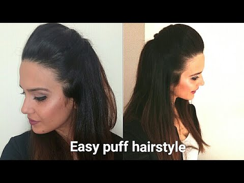 Front Puff For Thin Hair Quick Easy Hairstyles With Puff