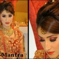 Hairstyle-For-Long-Hair-For-Indian-Wedding-Party