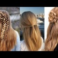 Hairstyle-for-girls-new-party-hairstyles-Easy-hairstyle-tutorial-for-Girls-2018
