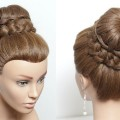High-Braided-Updo.-Hairstyle-For-Long-Hair-Tutorial