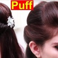 How-to-Front-Puff-Hair-Front-Puff-Hair-Style-Tutorial-Simple-Puff-Hairstyles-Easy-For-Girls