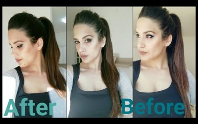 How-to-Get-Long-Thick-Ponytail-Hairstyle-with-PUFF-Longer-Voluminous-Ponytail-Trick