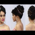 Indian-Bridal-Classic-look-Hairstyles-Wedding-Hairstyles-Bridal-Hairstyles-Black-Hairstyles