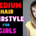 Medium-Hair-Hairstyle-For-Girls