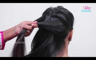 New-TrendyBeautiful-Hairstyles-for-Wedding-or-Functions-Gorgeous-Wedding-Hairstyles-2017-YouTube