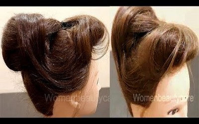 Puffed-Front-With-Beautiful-Bun-Wedding-Hairstyles-New-Hairstyles