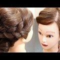 Puffed-Top-Hairstyle-with-Low-Bun-Wedding-Hairstyles-New-Hairstyle-Bridal-Hairstyles