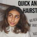 QUICK-AND-EASY-HAIRSTYLES-for-shortmessy-hair-no-heat-or-braids