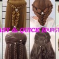 QUICK-and-EASY-hairstyles-for-long-New-hairstyles-Peinados-faciles-y-rapidos-para-cabello
