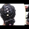 QuickEasy-French-Braid-Bun-Hairstyle-for-Long-Hair-Hairstyle-Tutorial-Videos-2017-YouTube-.