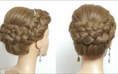Wedding-Updo-With-Braids.-Bridal-Hairstyle-For-Long-Hair-Turorial
