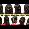 10-Most-Beautifull-Hairstyles-for-Christmas-PartyNew-Hairstyle-videos-2017-You-Tube.