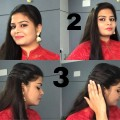 1Minute-Hair-Style-For-Long-Hair-3-styles-in-1-Minute-Pretty-Pep