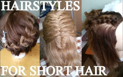 3-EASY-HAIRSTYLES-FOR-SHORT-HAIR-PART-2-HOW-TO-TUTORIAL