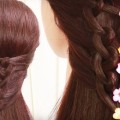5-Easy-And-Cute-Hairstyles-For-Long-Hairs-Hairstyle-videos-2017