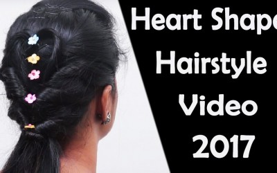 Beautiful-Heart-Shape-Hairstyle-for-Lovers-Easy-Hairstyle-tutorials-Hairstyle-videos-2017