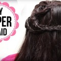 Beautiful-Medium-Hair-Hairstyle-For-Partys-Wedding-SIMPLE-Easy-Hairstyle-Tutorials