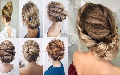 Braided-updo-hairstyles-for-mediumlong-hair-tutorial-Wedding-prom-New-Year-Eve-Party-Hairstyles