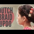 Double-Dutch-Braided-Bun-Updos-PoPular-Cute-Girls-Hairstyles-Fashions-videos2017.