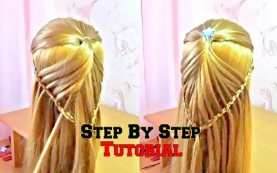 Easy-Hair-Style-For-Long-Hair-_-Part-4-_Hairstyle-Easy-_-Hairstyle-for-Women